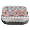 KESS InHouse Native Fiesta by Nika Martinez Coaster (Set of 4)