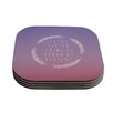 KESS InHouse Little Thing by Galaxy Eyes Coaster (Set of 4)