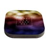 KESS InHouse Good Day by Galaxy Eyes Coaster (Set of 4)
