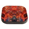 KESS InHouse Seaweed by Theresa Giolzetti Abstract Coaster (Set of 4)