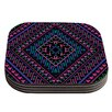 KESS InHouse Neon Pattern by Nika Martinez Coaster (Set of 4)
