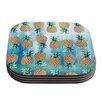 KESS InHouse Pineapple Beach by Nikki Strange Coaster (Set of 4)