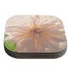 KESS InHouse Buy Her Flowers by Robin Dickinson Coaster (Set of 4)