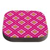KESS InHouse Moroccan Tile by Nicole Ketchum Coaster (Set of 4)