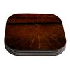 KESS InHouse Dark Web by Robin Dickinson Coaster (Set of 4)
