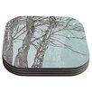 KESS InHouse Winter Trees by Sam Posnick Coaster (Set of 4)