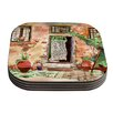 KESS InHouse Tuscan Door by Theresa Giolzetti Coaster (Set of 4)