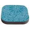 KESS InHouse Pitter Pattern by Belinda Gillies Coaster (Set of 4)