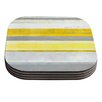 KESS InHouse Lemon by CarolLynn Tice Coaster (Set of 4)