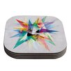 KESS InHouse Colorful by Mareike Boehmer Coaster (Set of 4)
