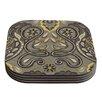KESS InHouse Vintage Damask by Suzie Tremel Coaster (Set of 4)
