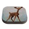 KESS InHouse Oh Deer by Rachel Kokko Coaster (Set of 4)