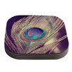 KESS InHouse Proud as a Peacock by Nastasia Cook Feather Coaster (Set of 4)