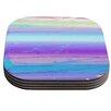KESS InHouse Drip Dye Cool by Nina May Coaster (Set of 4)