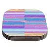 KESS InHouse Drip Dye by Nina May Coaster (Set of 4)