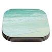 KESS InHouse Paradise Beach by Monika Strigel Coaster (Set of 4)