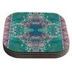 KESS InHouse Ashby Blossom by Nina May Coaster (Set of 4)