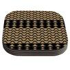 KESS InHouse Deco Angles by Nina May Coaster (Set of 4)