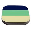 KESS InHouse South Pacific by Catherine McDonald Coaster (Set of 4)