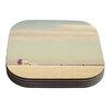 KESS InHouse Toffee - Marshmallow by Myan Soffia Coaster (Set of 4)