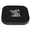 KESS InHouse Take A Picture Coaster (Set of 4)