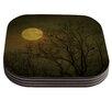 KESS InHouse Starry Night by Robin Dickinson Coaster (Set of 4)