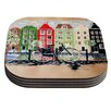 KESS InHouse Bicycle by Christen Treat Coaster (Set of 4)
