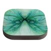 KESS InHouse Butterfly by Alison Coxon Coaster (Set of 4)