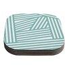 KESS InHouse Stripes by Louise Machado Coaster (Set of 4)
