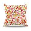 KESS InHouse Bubbles by Louise Machado Warm Throw Pillow