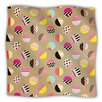 KESS InHouse Fun Circle by Louise Machado Fleece Throw Blanket