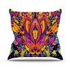 KESS InHouse Paisley Garden by Nikki Strange Wam Throw Pillow