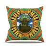 KESS InHouse Darth Yoda by Roberlan Star Wars Throw Pillow