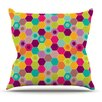 KESS InHouse Arabian Bee by Nicole Ketchum Throw Pillow