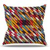 KESS InHouse Texturize by Danny Ivan Throw Pillow