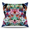KESS InHouse Herz by Danii Pollehn Floral Throw Pillow