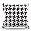 KESS InHouse Spacey Houndstooth by Empire Ruhl Throw Pillow