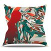 KESS InHouse Soccer Headshot by Danny Ivan Throw Pillow