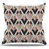 KESS InHouse Sweet & Sharp by Akwaflorell Throw Pillow