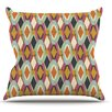KESS InHouse Sequoyah Ovals by Amanda Lane Throw Pillow