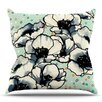 KESS InHouse Anenome Fizz by Sonal Nathwani Throw Pillow