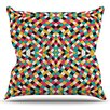 KESS InHouse Retro Grade by Danny Ivan Throw Pillow