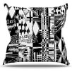 KESS InHouse Tropical Buzz by Gabriela Fuente Throw Pillow
