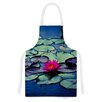 KESS InHouse Twilight by Ann Barnes Water Lily Artistic Apron