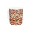 KESS InHouse Henson by Allison Soupcoff 11 oz. Green Ceramic Coffee Mug