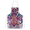 KESS InHouse Purple Tiger by Brienne Jepkema Artistic Apron