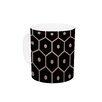 KESS InHouse Tiled Mono by Budi Kwan 11 oz. Ceramic Coffee Mug