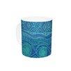 KESS InHouse Beach Blanket Confusion by Catherine Holcombe 11 oz. Ceramic Coffee Mug