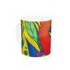 KESS InHouse Psycho-Delic Dan by Catherine Holcombe 11 oz. Ceramic Coffee Mug