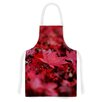 KESS InHouse Red Leaves by Angie Turner Leaf Artistic Apron